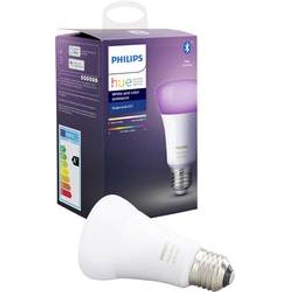 Philips Hue White and Colour Ambiance E27 Single Bulb