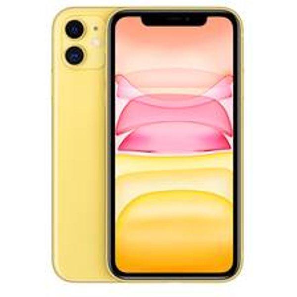 "Apple iPhone 11 - Smartphone (6.1 "", 256 GB, Yellow)"