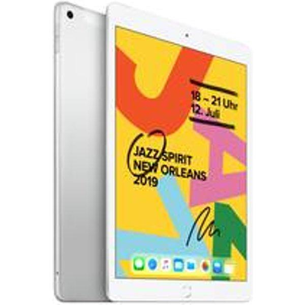 "Apple ipad 10,2"" wi-fi cellular 128gb - silver *new"