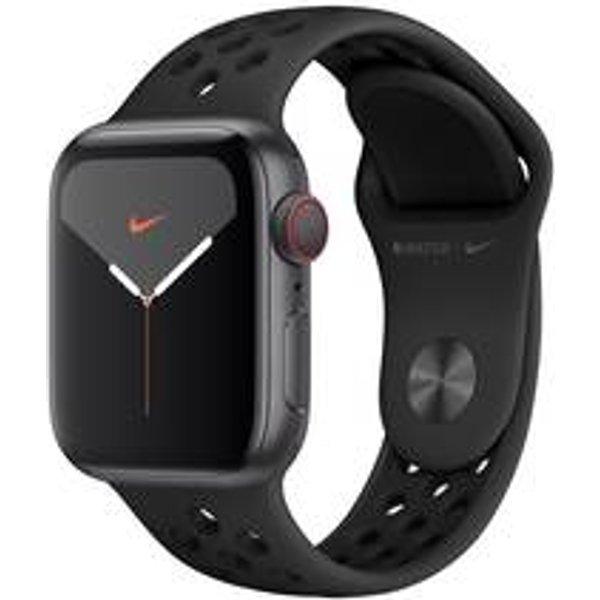 Apple Watch Series 5 Nike 40 mm (GPS + Cellular) anthrazit, schwarz
