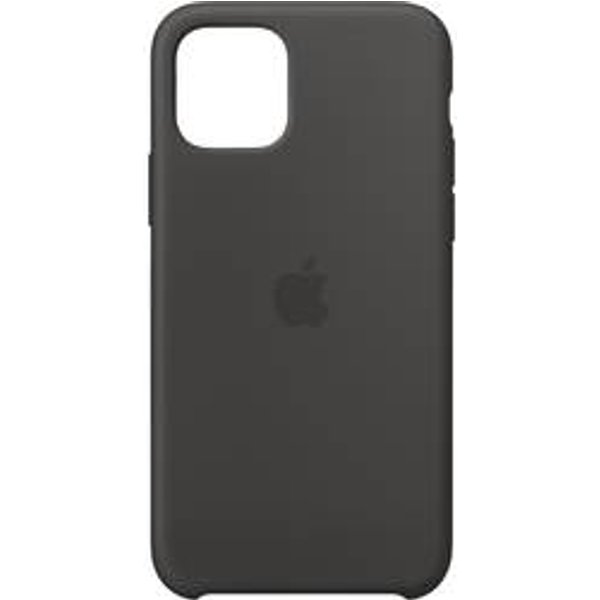 Coque Apple iPhone 11 Pro silicone, noir