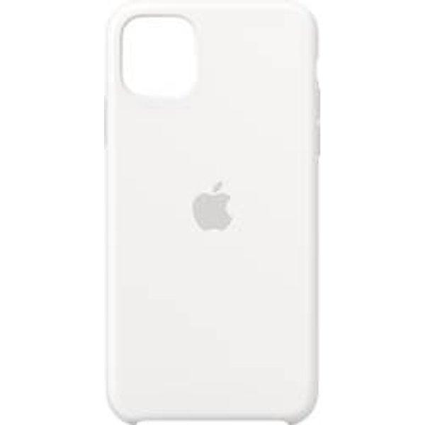 Apple Silikon Case für iPhone 11 Pro Max weiß