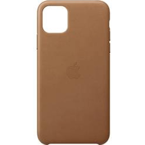 Apple Leder Case für iPhone 11 Pro Max sattelbraun