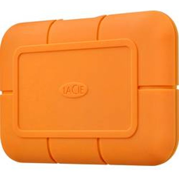 Disque SSD Externe La Cie Rugged 500 Go Orange