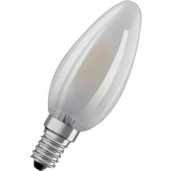 OSRAM LED EEK A++ (A++ - E) E14 Kerzenform 4W = 40W Warmweiß (Ø x L) 35mm x 100mm 1St.
