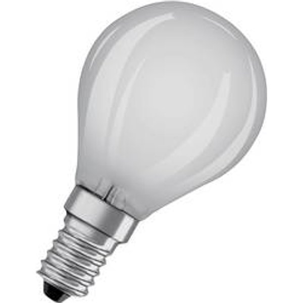 OSRAM golf ball LED bulb E14 5 W matt 2,700 K