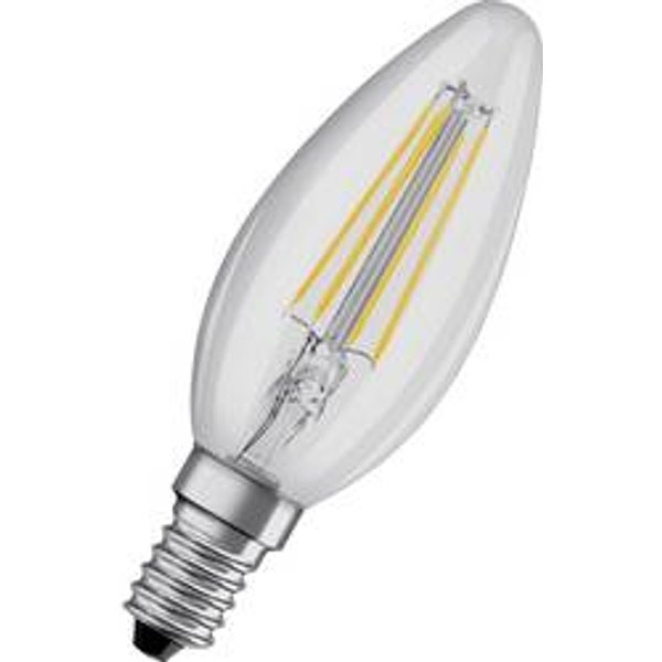 OSRAM candle LED bulb E14 5 W 827 dimmable