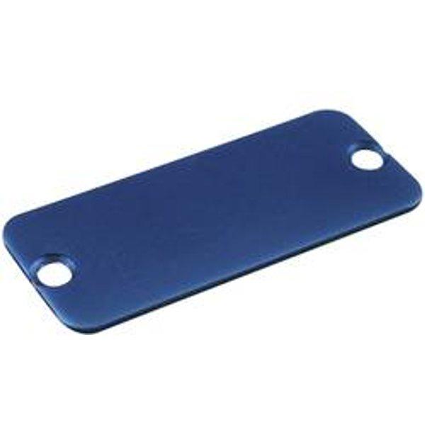 Plaque arrière Hammond Electronics 1455RALBU-10 aluminium bleu