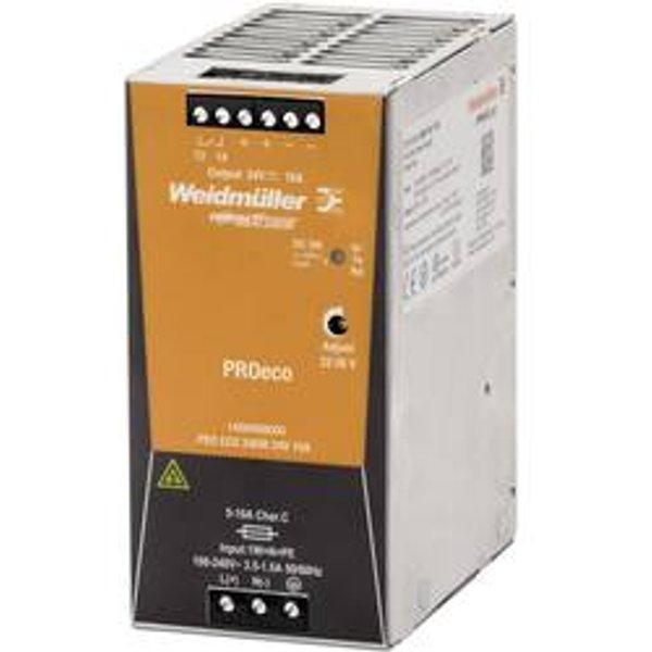 Alimentation Weidmuller de commutation PRO ECO 240W 24V 1469490000