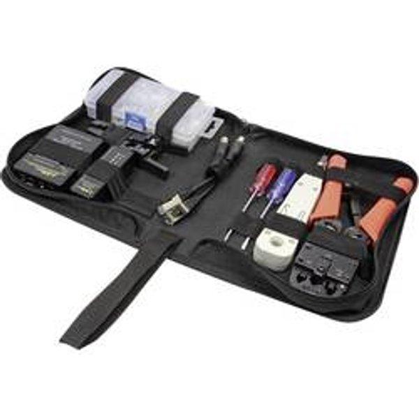 LogiLink Netzwerk Werkzeug Set mit Tasche 6-teilig