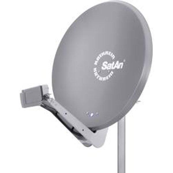 Antenne SAT 90 cm Kathrein CAS 90gr Matériau du réflecteur: aluminium gris
