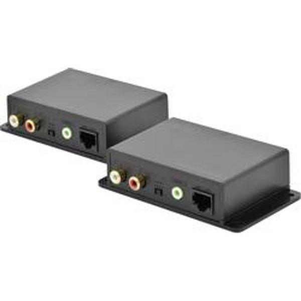 Digitus DS-56100 jack Répéteur (extension) câble réseau RJ45 600 m