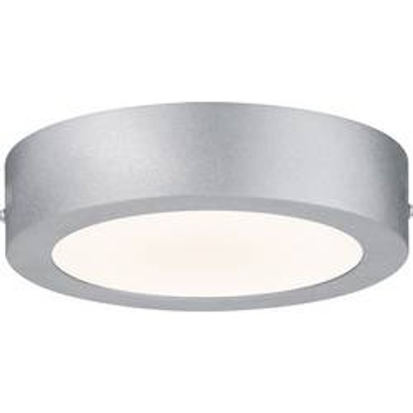Plafonnier LED, rond, chrome mat, P 17 cm, LUNAR - PAULMANN