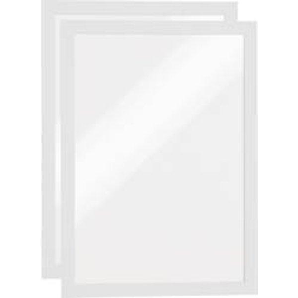Magnetrahmen Duraframe® - A4, 322 x 236 mm, weiß