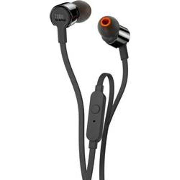 Écouteurs intra-auriculaires intra-auriculaire JBL Harman T210 micro-casque noir