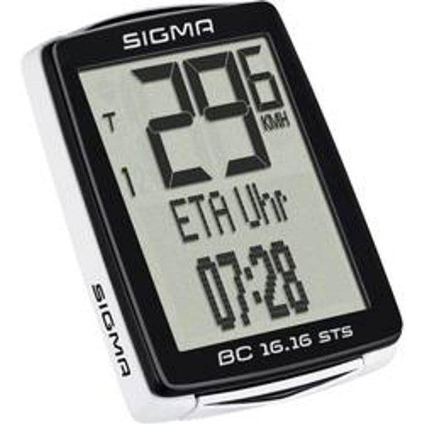 Ordinateur de vélo bc 16.16 sts noir (01617)