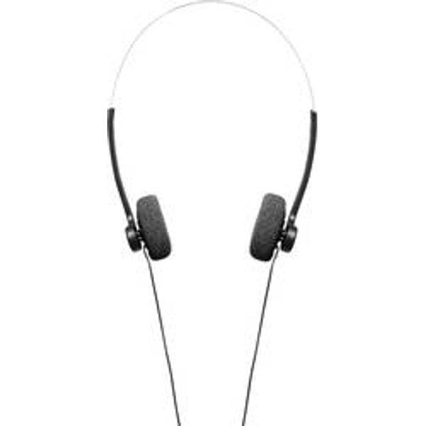 Hama On-Ear-Stereo-Kopfhörer Basic4Music, schwarz