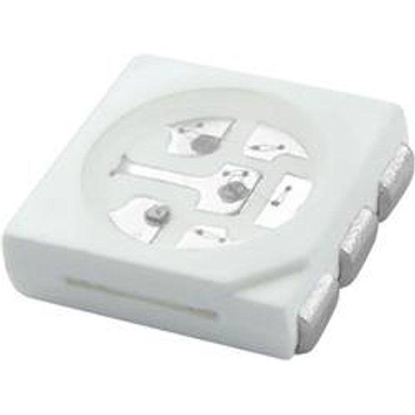 HuiYuan LED CMS 5050 bleu 3000 mcd 120 ° 20 mA 3.4 V