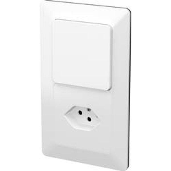 Modino Priamos Insert Interrupteur et prise Priamos blanc 140134