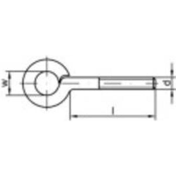 Œillet fileté type 48 Q30343 - TOOLCRAFT (159575)