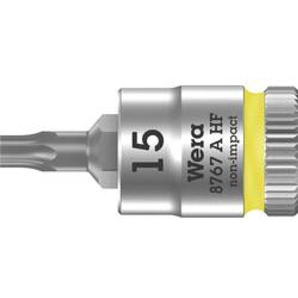 8767 A HF TORX, T15x28, Clés mixtes à cliquet