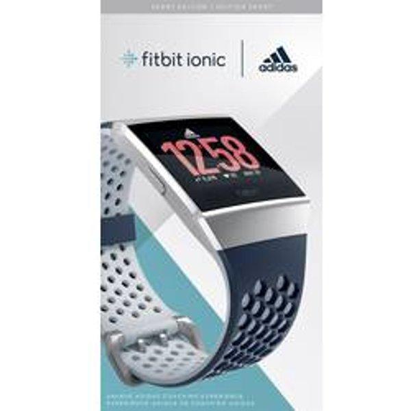 FitBit Ionic adidas edition Smartwatch Tintenblau, Eisgrau
