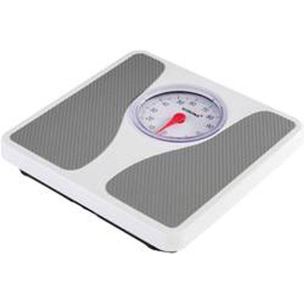 Pèse-personne analogique Korona Louis 76660 Plage de pesée (max.): 130 kg blanc, gris 1 pc(s)