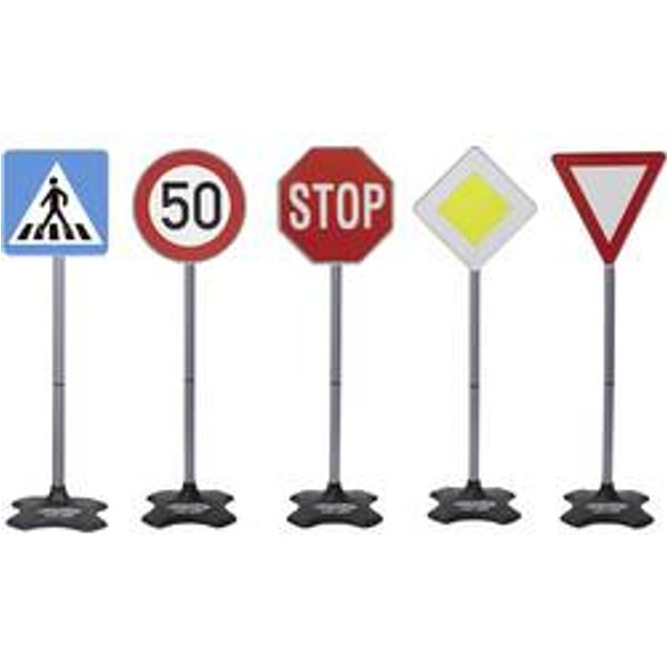 Panneau de signalisation routière Jamara Traffic-Set Grand A