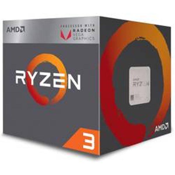 AMD Ryzen 3 2200G Quad-Core Processor with Radeon Vega Graphics