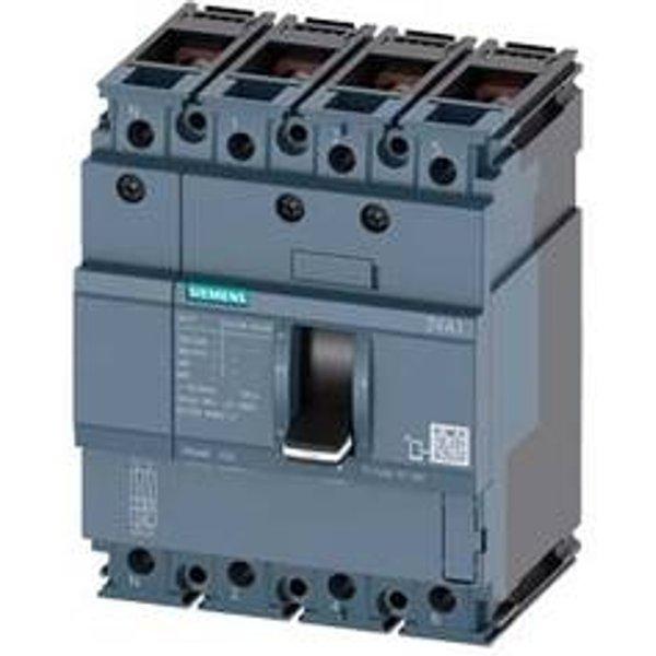 Siemens 3VA1063-4ED42-0AC0 Leistungsschalter 1 St. 2 Wechsler Einstellbereich (Strom): 63 - 63A Scha