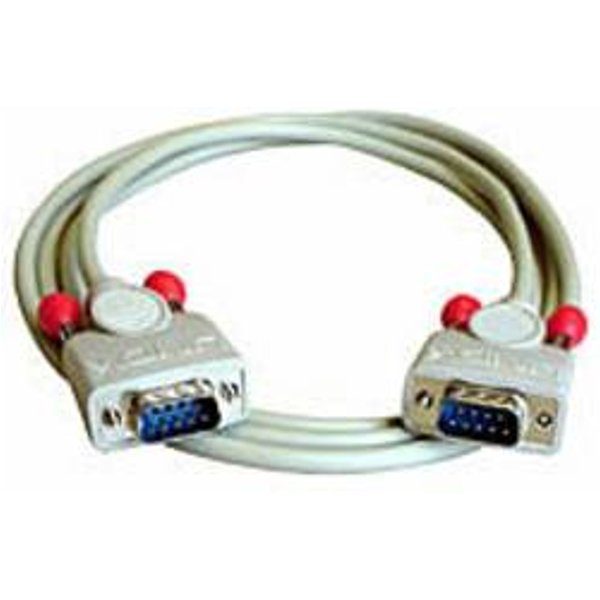 Câble de raccordement LINDY série [1x SUB-D mâle 9 pôles - 1x SUB-D mâle 9 pôles] 3 m gris