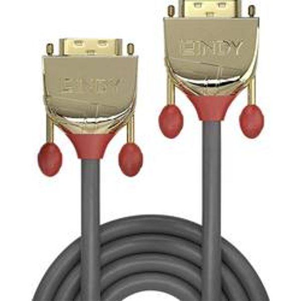 Lindy Dvi-D Dual Link Kabel Gold Line 1m Câble