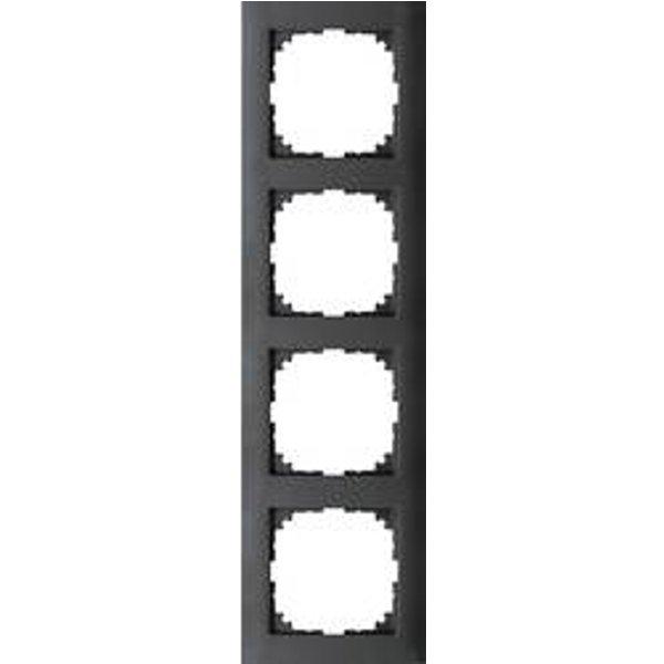Merten Rahmen Abdeckung System M Anthrazit MEG4040-3614