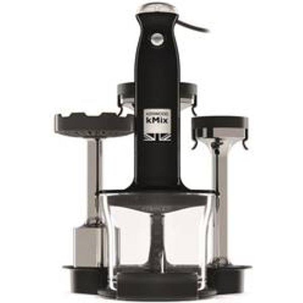 Kenwood kMix Kit mixeur plongeant hdx854bk, noir, 800 W, presse-purée, nouvelle série, Triblade Système