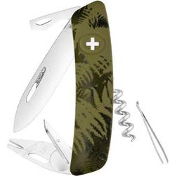 Swiza Taschenmesser Tick Tool Tt03 Olive mit Funktionen