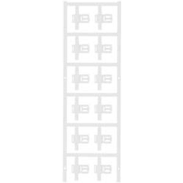 Porte-étiquette Weidmüller SFC 3/30 MC NE WS 1025310000 Surface de marquage: 30 x 5 mm blanc 60 pc(s)