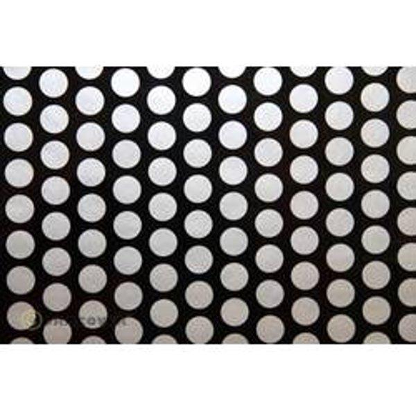 Oracover 90-071-091-010 Plotterfolie Easyplot Fun 1 (L x B) 10m x 60cm Schwarz, Silber