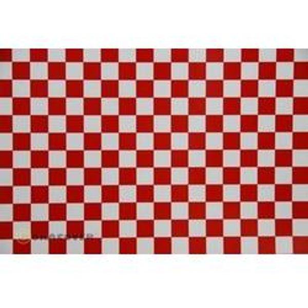 Oracover 95-010-023-002 Plotterfolie Easyplot Fun 4 (L x B) 2m x 60cm Weiß, Rot