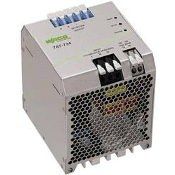 Alimentation rail DIN WAGO EPSITRON® ECO POWER 787-734 28 V/DC 20 A 480 W 1 x