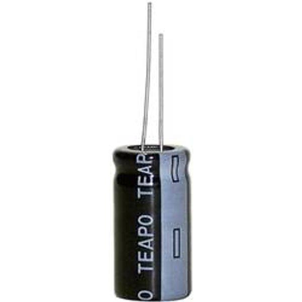 Teapo SY 220uF/35V 8x15mm Elektrolyt-Kondensator radial bedrahtet 3.5mm 220 µF 35V 20% (Ø x L) 8mm