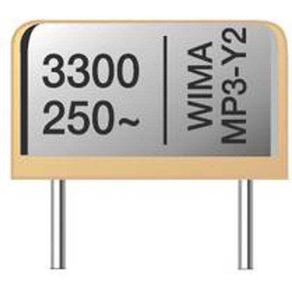Wima MPRY0W1470FD00MF00 Funk Entstör-Kondensator MP3R-Y2 radial bedrahtet 4700 pF 250 V/AC 20 % 500 St. Tape on Full