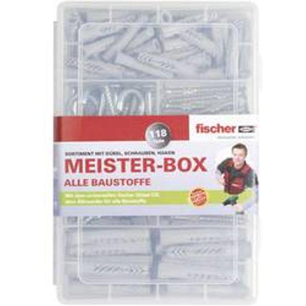 Assortiment de chevilles UX-R, vis et crochets Fischer 513894