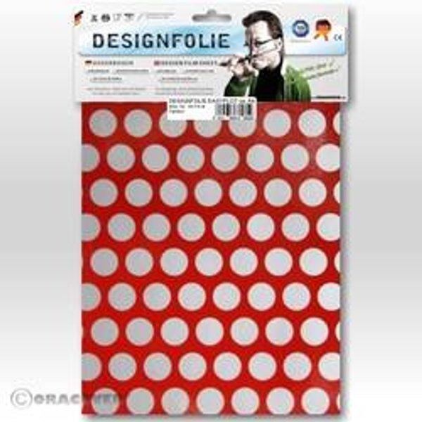 Oracover 90-023-091-B Designfolie Easyplot Fun 1 (L x B) 300 mm x 208 mm Ferrirot-Silber