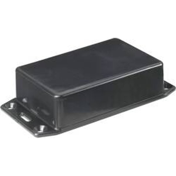 Boîtier Euro Hammond Electronics 1591DFLBK ABS noir 160 x 80 x 50 1 pc(s)