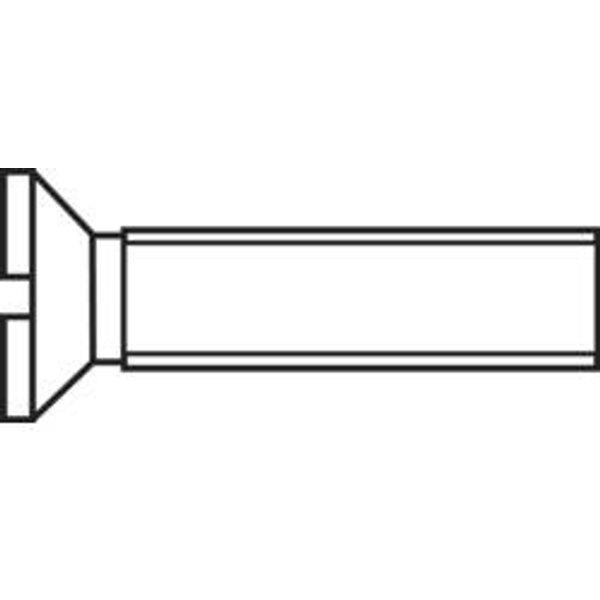 Vis à tête fraisée TOOLCRAFT 188786 M2,5*12 D963-4.8:A2K 100 pc(s) M2.5 12 mm tête fraisée plat acier N/A
