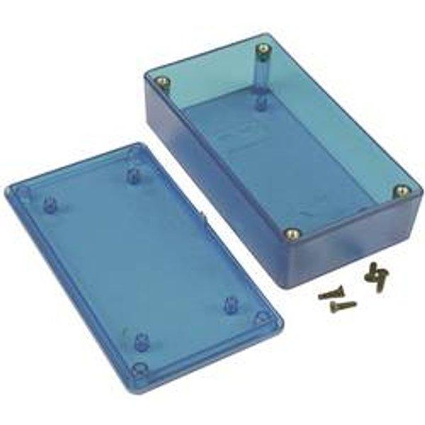 Boîtier universel Hammond Electronics 1591XXBTBU ABS bleu (transparent) 113 x 63 x 31 1 pc(s)