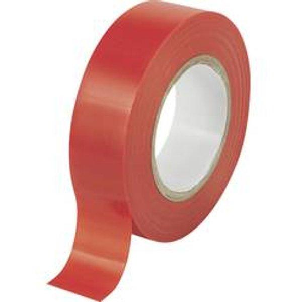TRU COMPONENTS 1564107 Isolierband Rot (L x B) 25 m x 19 mm 25 m
