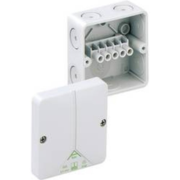 Boîte de raccordement Spelsberg 80240701 (L x l x h) 80 x 80 x 52 mm gris IP65 1 pc(s)