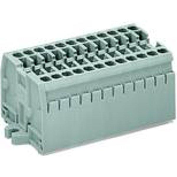 Barrette à bornes (bloc compact) WAGO 869-102 100 pc(s)