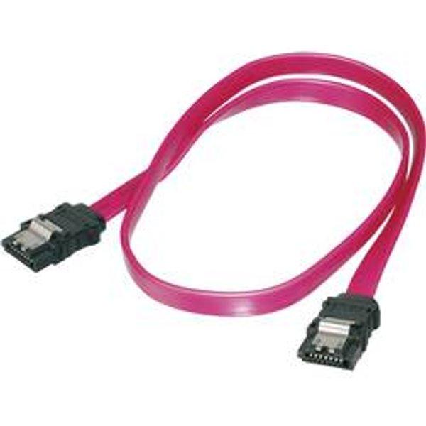 Digitus: SATA Anschlusskabel,L-Typ,0,5m (AK-400102-005-R)